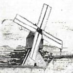 Meunier et moulin-cavier