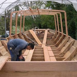 La première Toue cabanée est construite