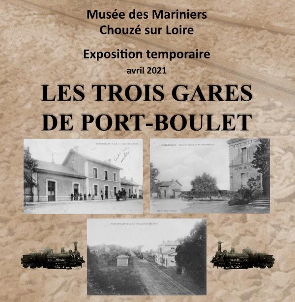 Les 3 gares de Port-Boulet